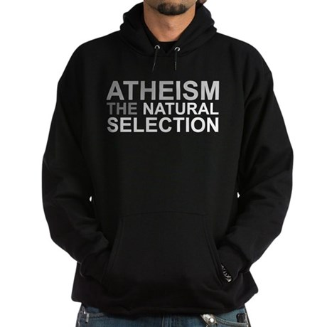 Atheism The Natural Selection Hoodie (dark)
