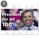 Barack Obama: President for All 100% Puzzle