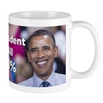 Barack Obama: President for All 100% Mug