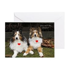 You and Me, forever Greeting Card