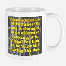 Wisconsin Dumb Law 009 Mug
