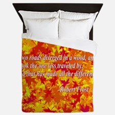 The Road Less Traveled Queen Duvet