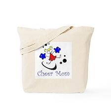 Cartoon Cheer Mom Tote Bag