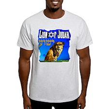 Lion of Judah 10 Ash Grey T-Shirt