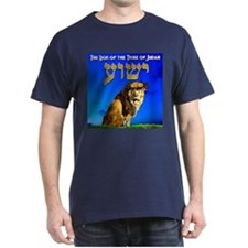 Lion of Judah 10 Black T-Shirt