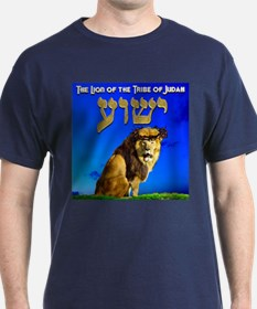 Lion of Judah 10 Black T-Shirt
