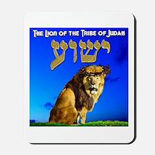 Lion of Judah 10 Mousepad