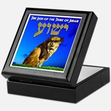 Lion of Judah 10 Keepsake Box