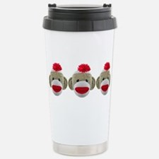Cute Monkey boy baby Travel Mug