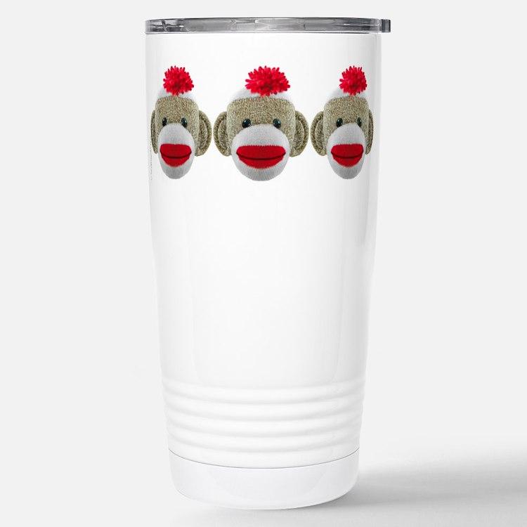 Cute Monkey boy Travel Mug