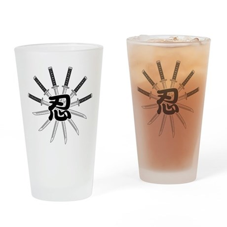 Shinobi Drinking Glass