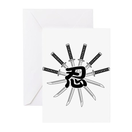 Shinobi Greeting Cards (Pk of 10)