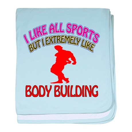 Body building Design baby blanket