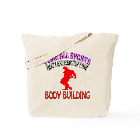 Body building Design Tote Bag