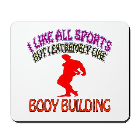 Body building Design Mousepad