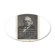 The Call To Religion - H W Beecher Wall Decal