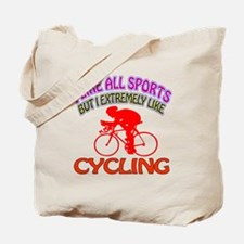 Cycling Design Tote Bag