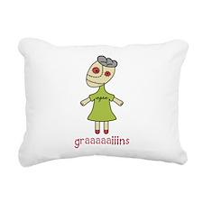 Graaaaaiins.png Rectangular Canvas Pillow