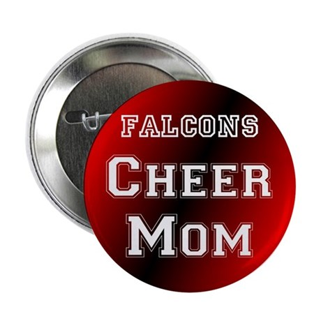 Falcon Cheer Mom Button