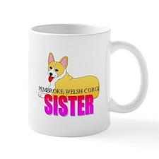 Pembroke Welsh Corgi Sister Mug