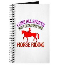 Horse Riding Design Journal