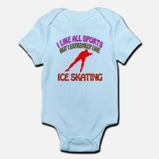 Ice Skating Design Infant Bodysuit