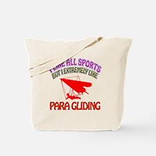 Para Gliding Design Tote Bag
