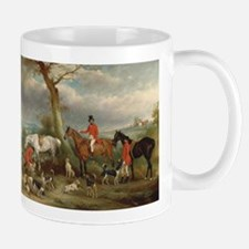 Vintage Painting of the Hunt Mug
