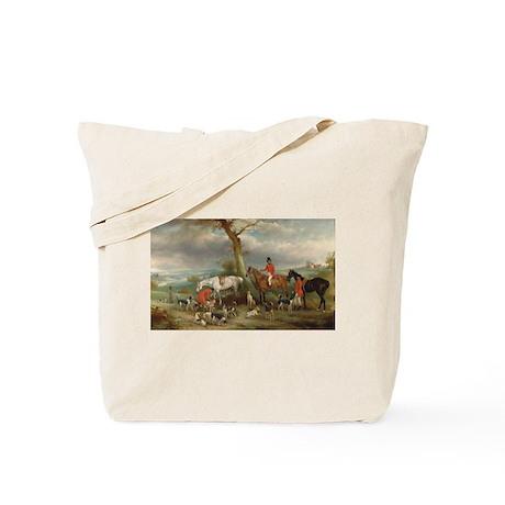 Vintage Painting of the Hunt Tote Bag