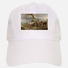 Vintage Painting of the Hunt Baseball Baseball Cap