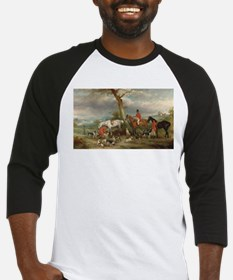 Vintage Painting of the Hunt Baseball Jersey