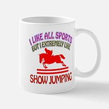 Show Jumping Design Mug