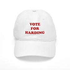 Vote For Harding Baseball Baseball Cap