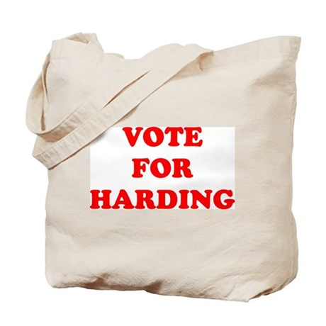 Vote For Harding Tote Bag