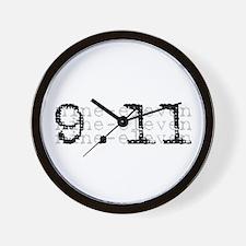 9/11 Wall Clock