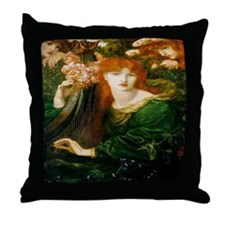 La Ghirlandata Throw Pillow