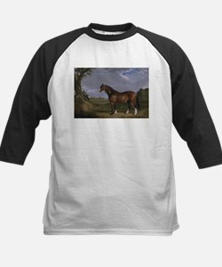 Vintage Painting of Clydesdale Stallion Tee
