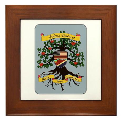 Coat of Arms Framed Tile