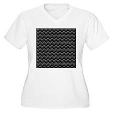 Dark Gray Chevrons. T-Shirt