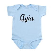 Agia, Aged, Infant Bodysuit