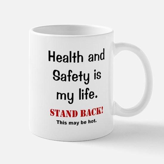 Health and Safety Officer Funny Warning Mug