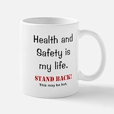 Health and Safety Officer Funny Warning Small Small Mug
