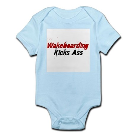 Wakeboarding Kicks Ass Infant Creeper