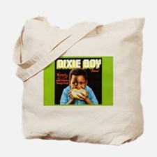Dixie Boy Crate Label Art Tote Bag