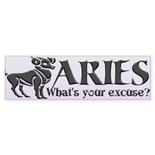ARIES (What's your excuse?)