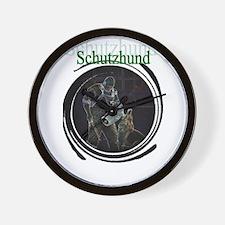 Schutzhund Wall Clock