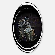 Schutzhund Oval Decal