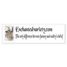 enchanted variety Bumper Bumper Sticker