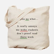 Proof Read Tote Bag