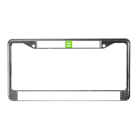 Equality Collection License Plate Frame